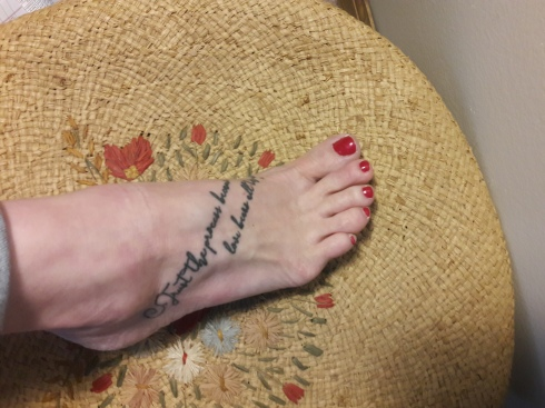 foot tattoo pic